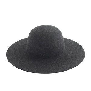 NWT J crew black felt floppy hat